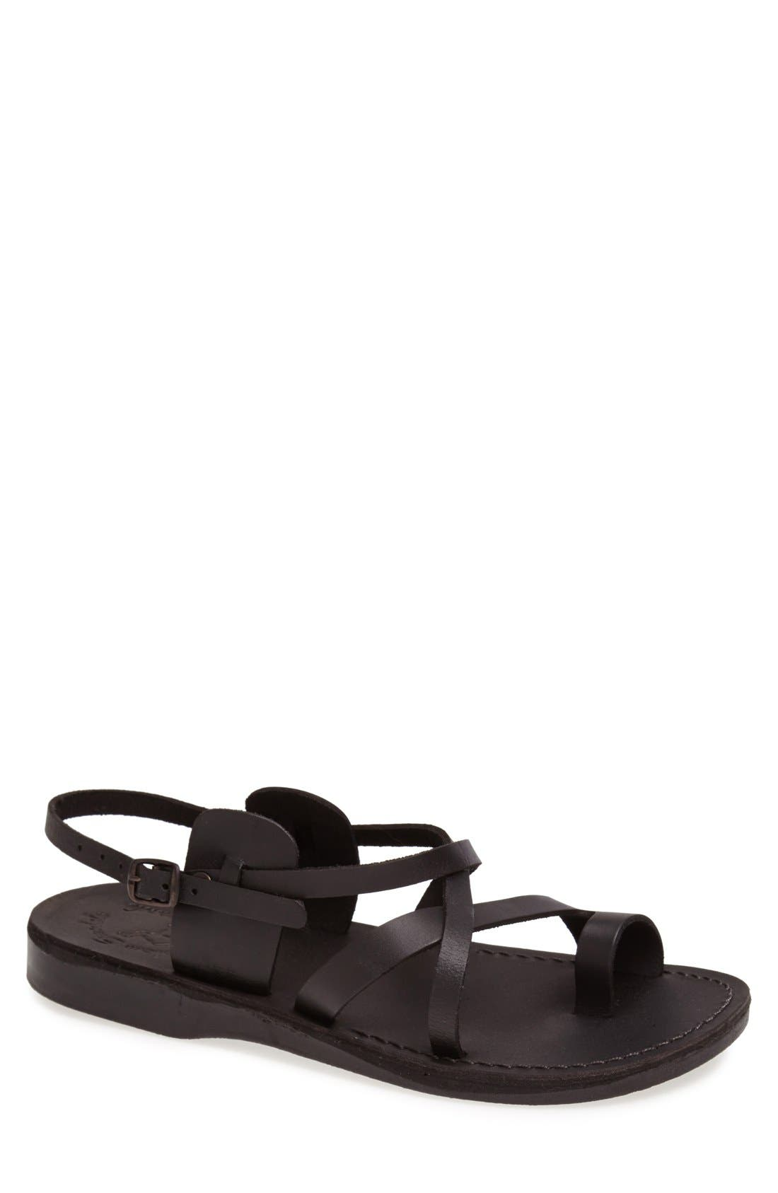 Jerusalem Sandals 'The Good Shepherd' Leather Sandal (Men)