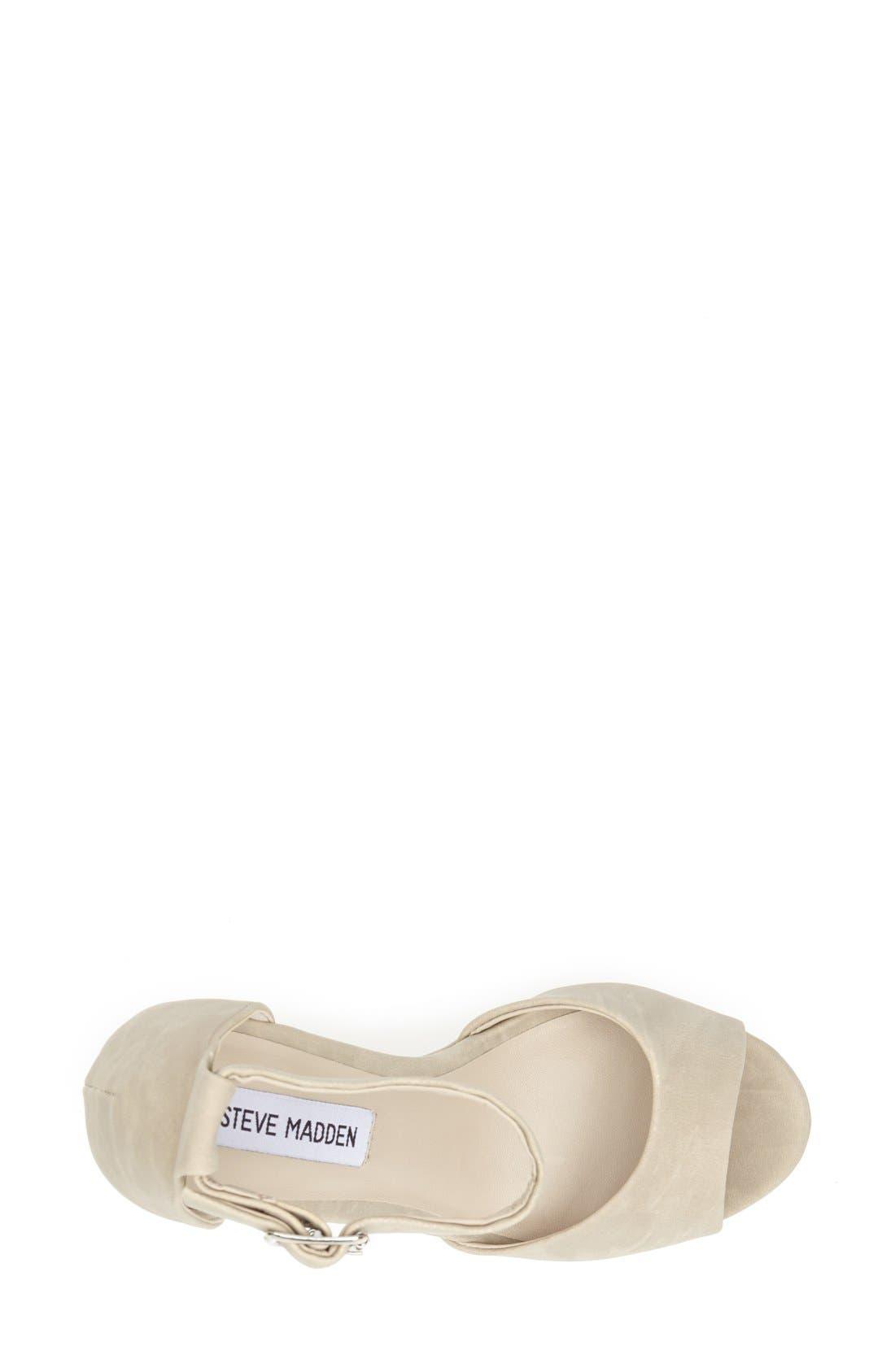 Alternate Image 3  - Steve Madden 'Whitman' Ankle Strap Platform Sandal