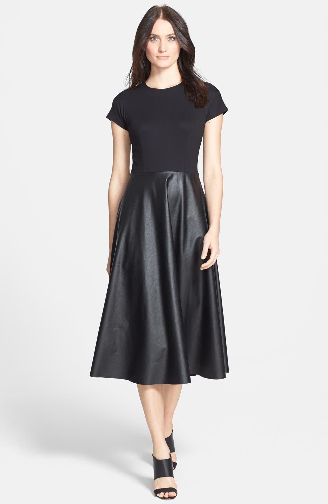 Alternate Image 1 Selected - Lafayette 148 New York 'Mirna - Neo Tech' Dress