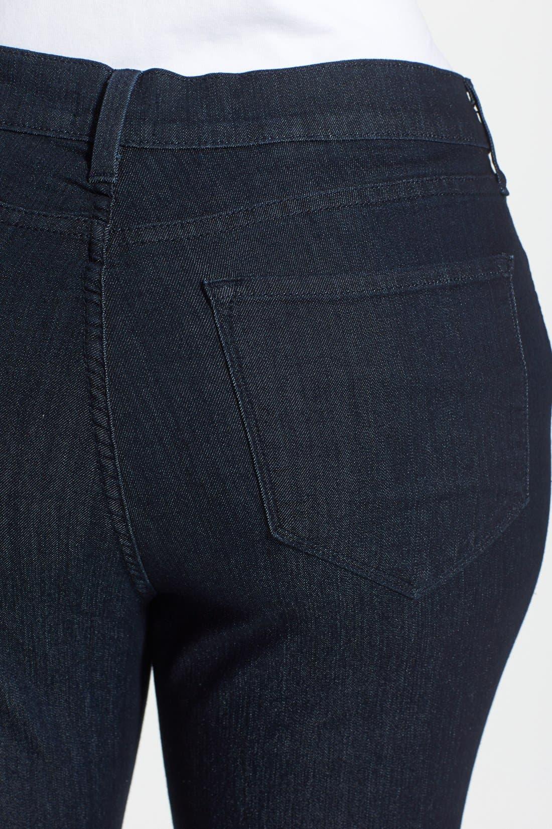 Alternate Image 3  - KUT from the Kloth 'Diana' Stretch Skinny Jeans (Discrete) (Plus Size)