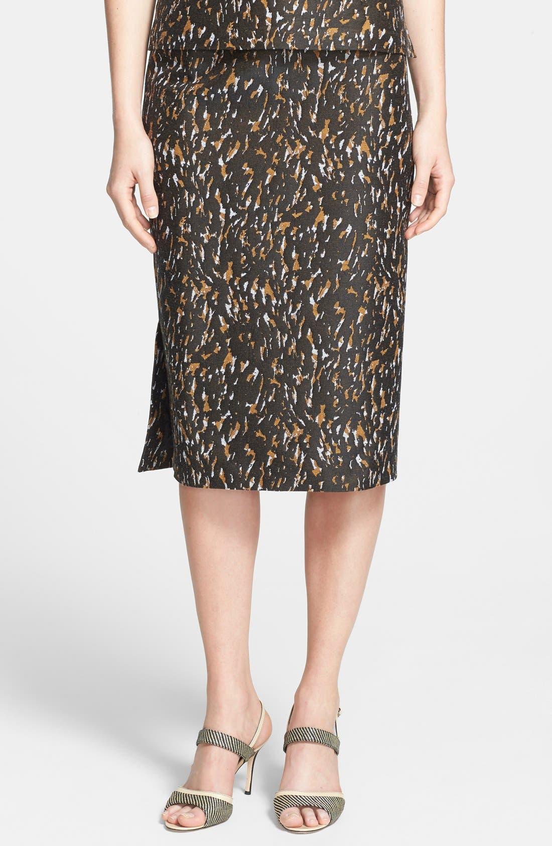 Alternate Image 1 Selected - Lafayette 148 New York 'Priscilla - Urban Jacquard' Skirt