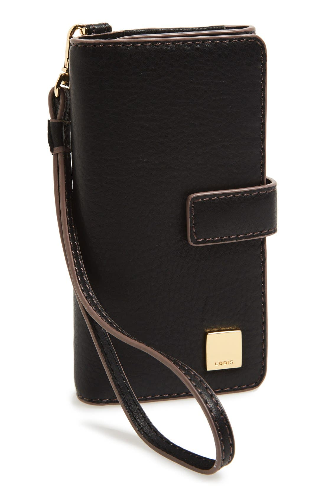 Alternate Image 1 Selected - Lodis 'Milly Valley - Cassie' RFID-Protected Phone Wallet