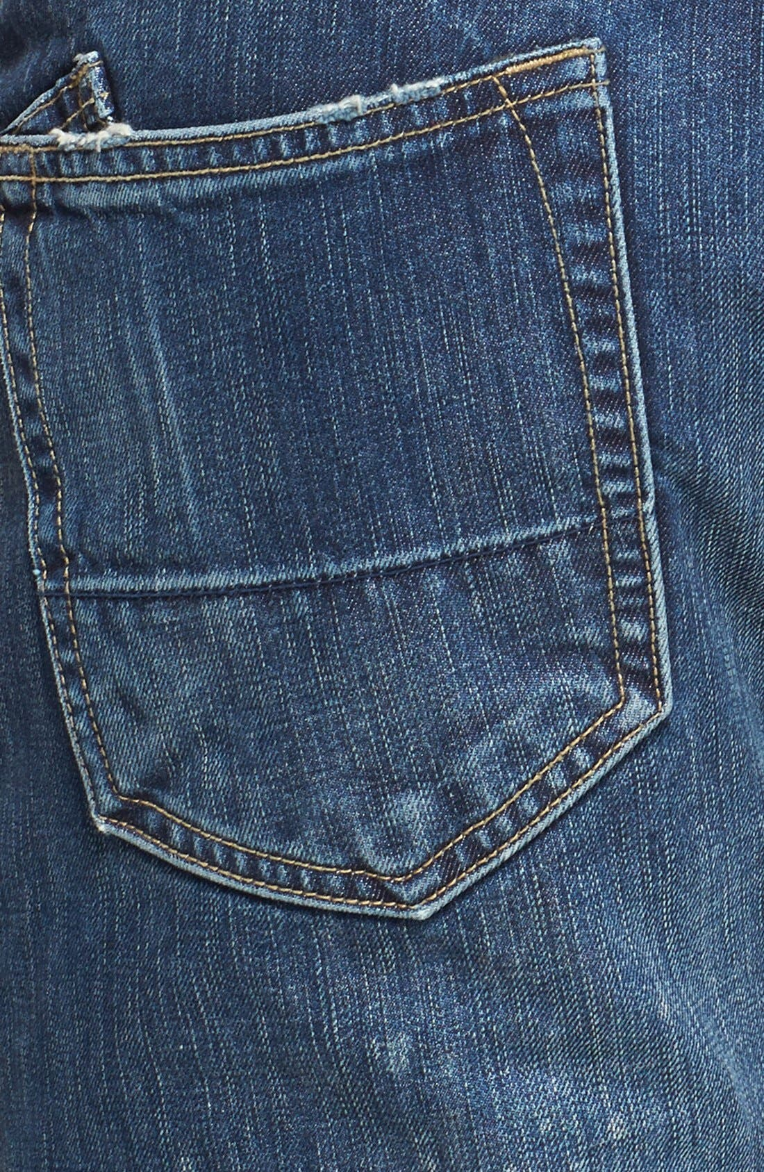 Alternate Image 4  - PRPS 'Demon' Straight Leg Jeans (Enzyme)