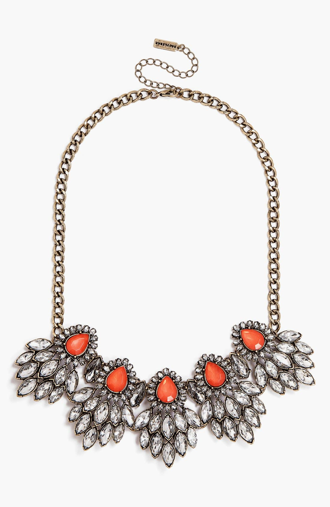 Main Image - BaubleBar 'Peacock Cluster' Frontal Necklace