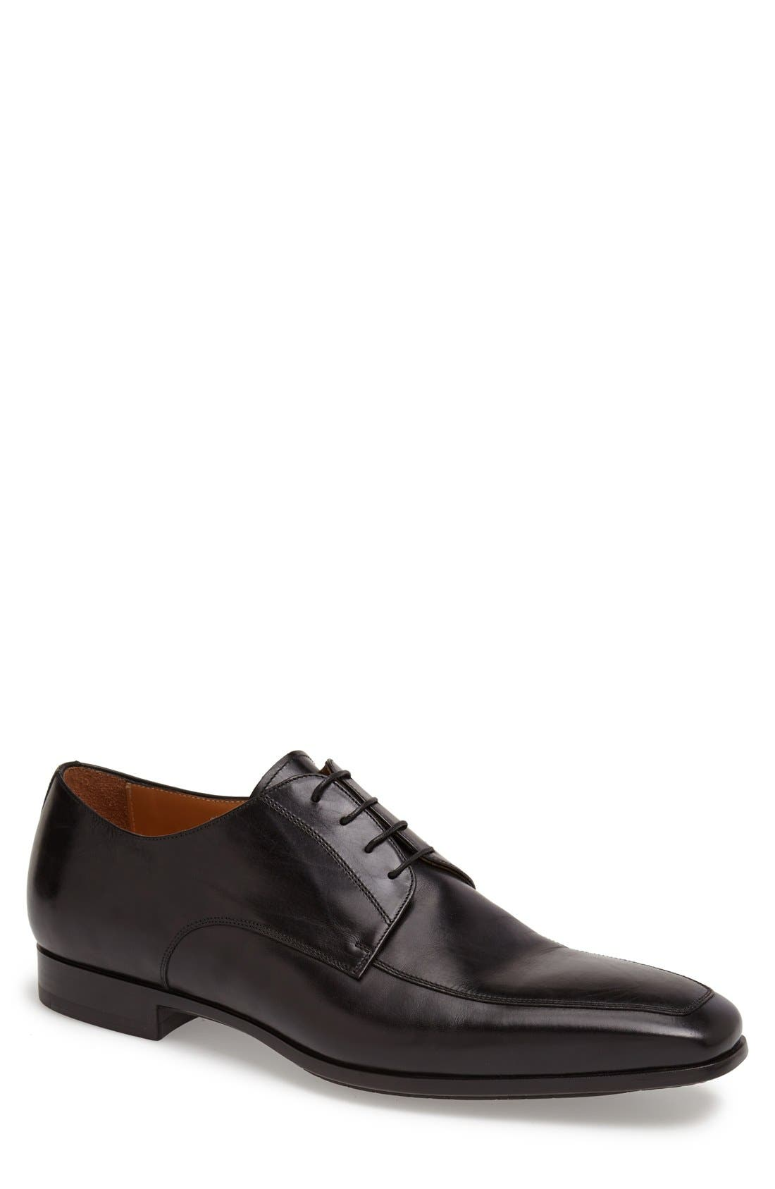 Alternate Image 1 Selected - Santoni 'Prichard' Apron Toe Derby (Men)