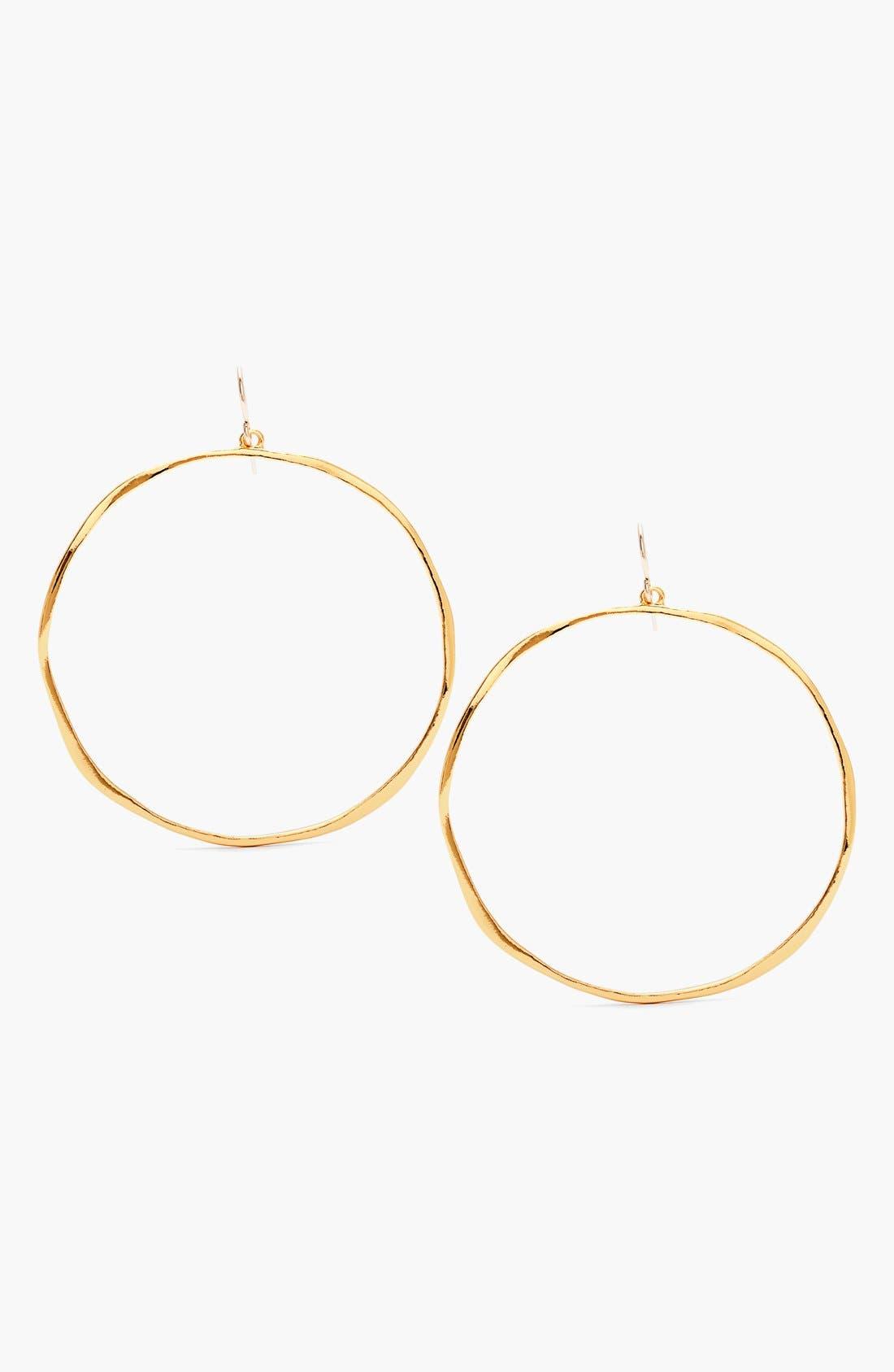 Alternate Image 1 Selected - gorjana 'G Ring' Hoop Earrings
