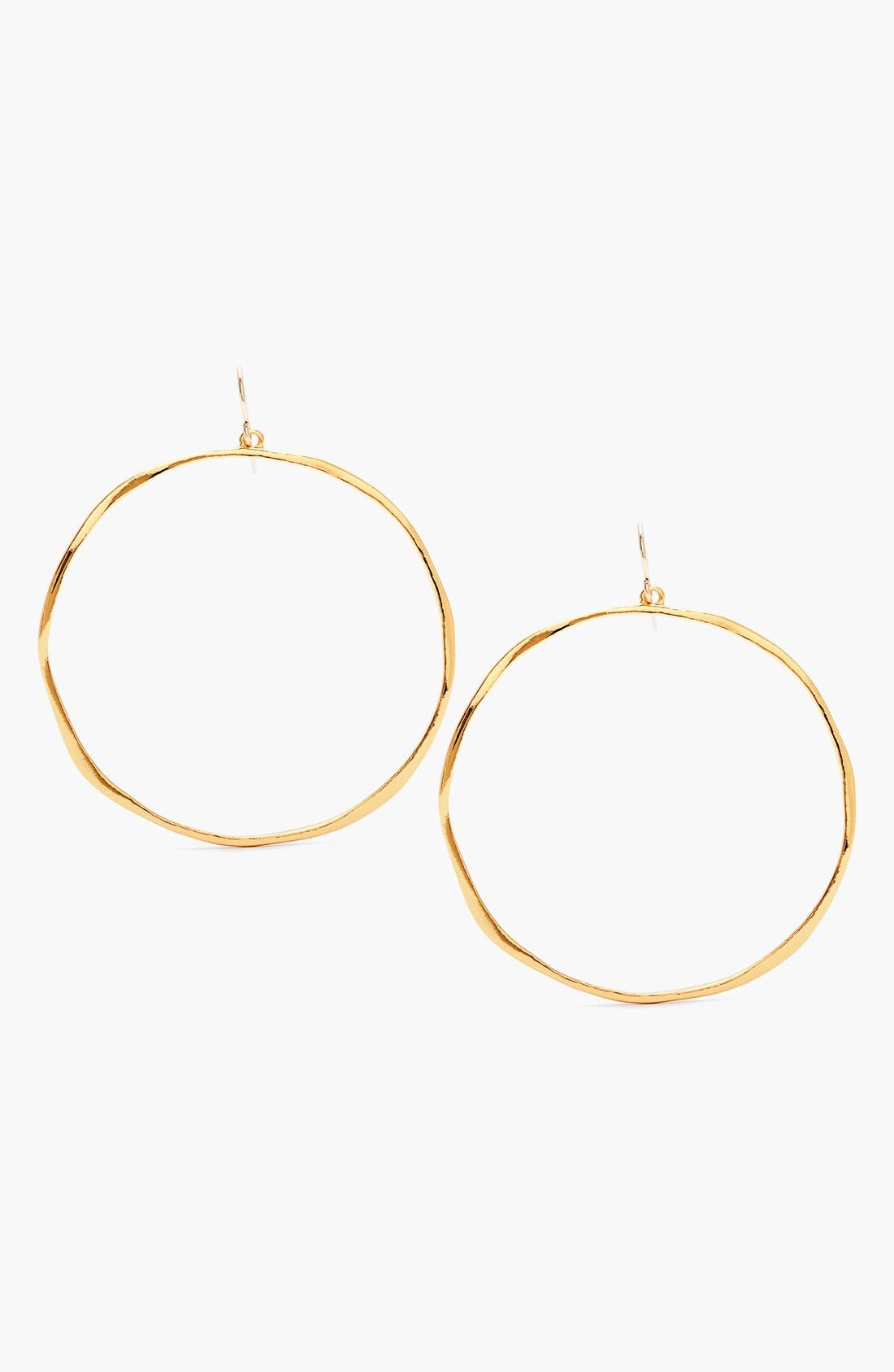 Main Image - gorjana 'G Ring' Hoop Earrings