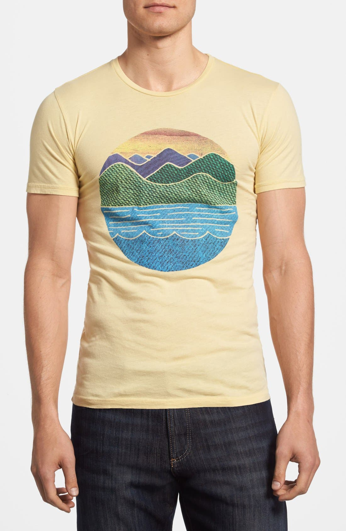 Alternate Image 1 Selected - Altru 'Circle Scape' Graphic T-Shirt
