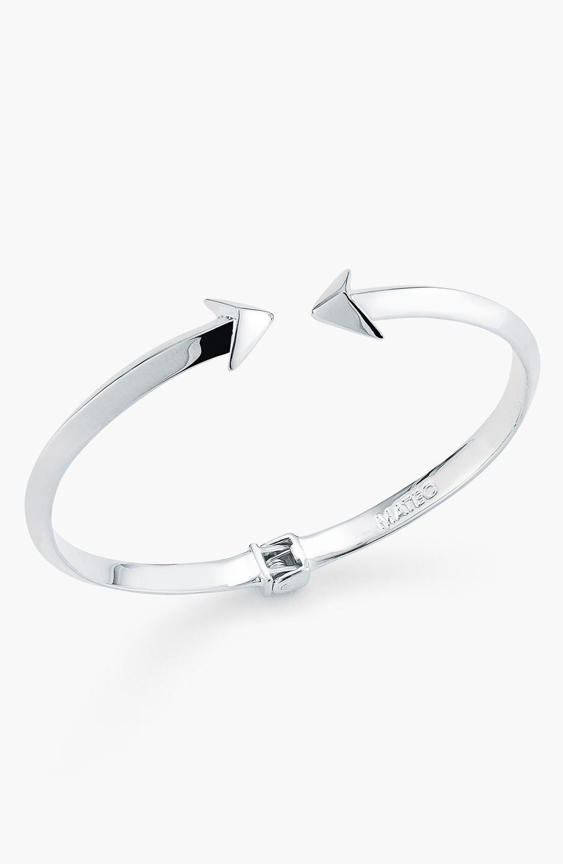Alternate Image 2  - Mateo Bijoux 'Arrowhead' Hinge Bracelet