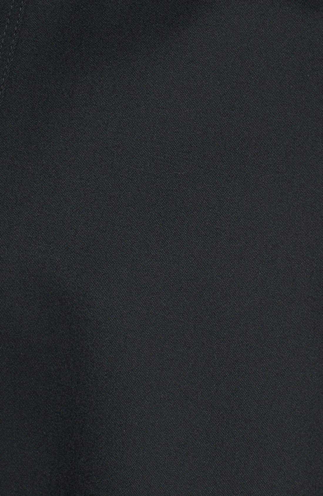 Alternate Image 3  - Trina Turk 'Gwyneth' Flared Wool Gabardine Trench Coat (Regular & Petite)