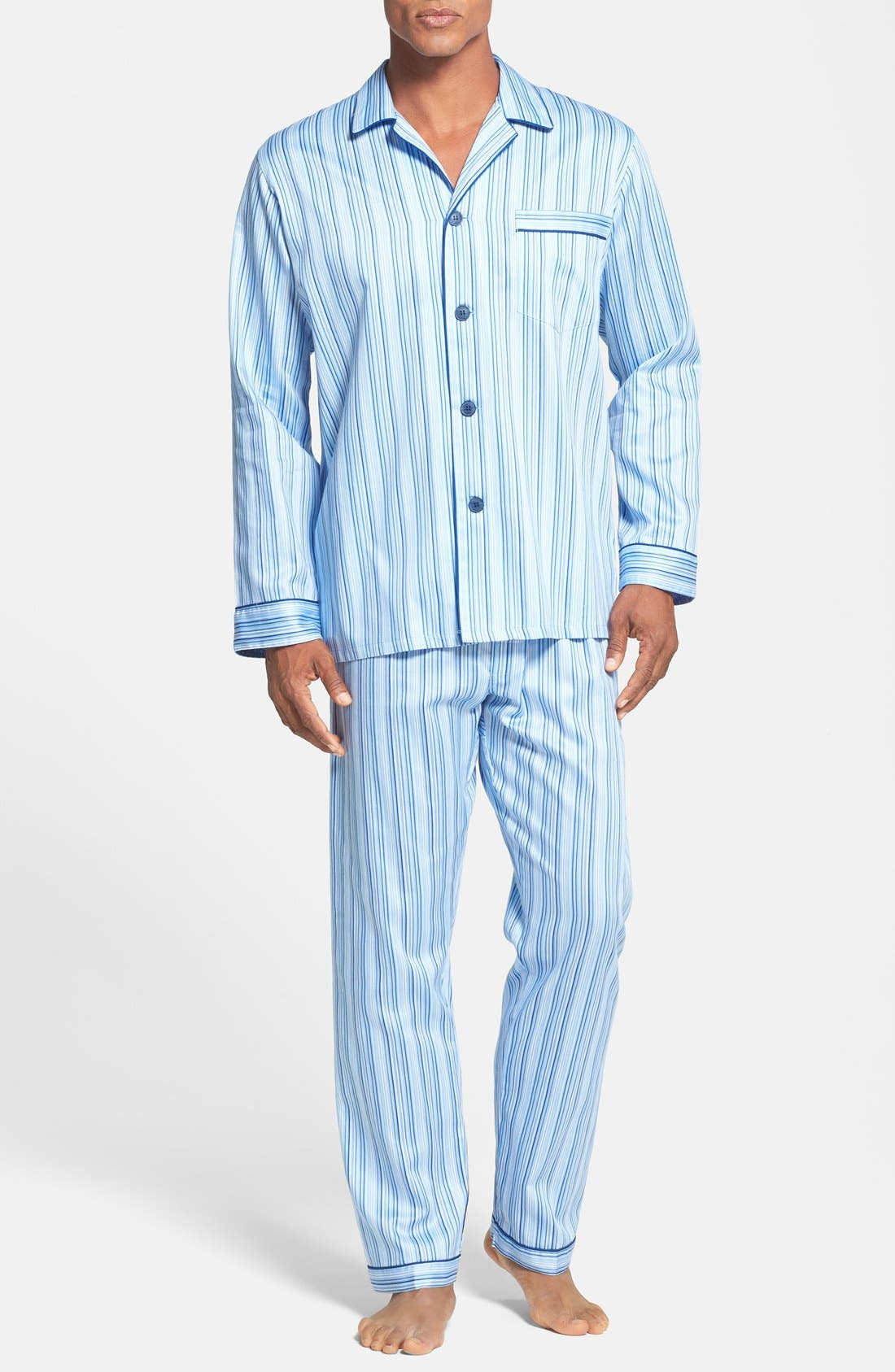 Alternate Image 1 Selected - Majestic International Cotton Pajamas
