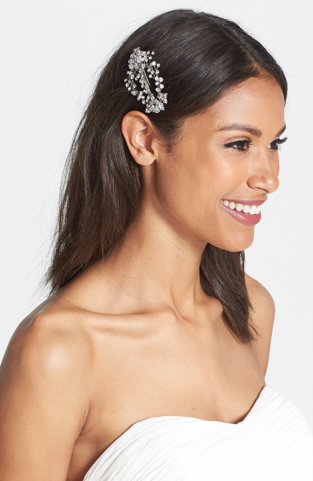Alternate Image 1 Selected - Wedding Belles New York 'Endure' Czech Crystal Clip
