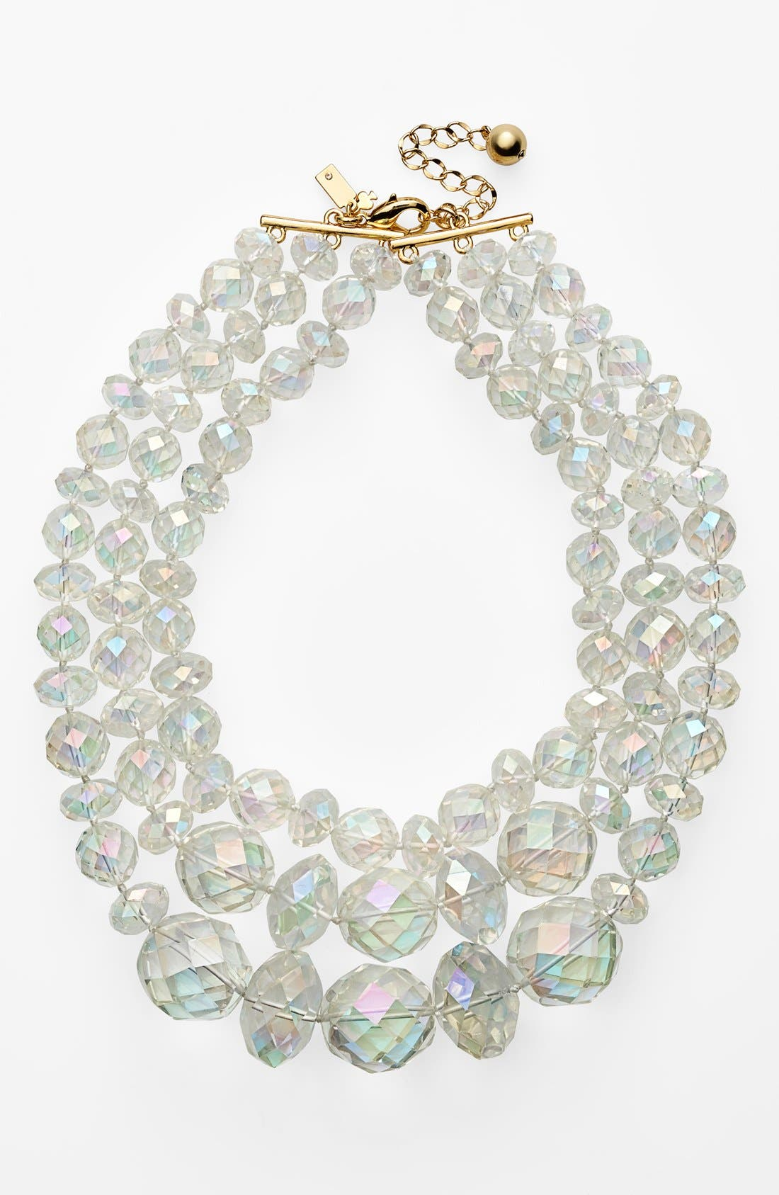 Alternate Image 1 Selected - kate spade new york 'give it a swirl' statement necklace