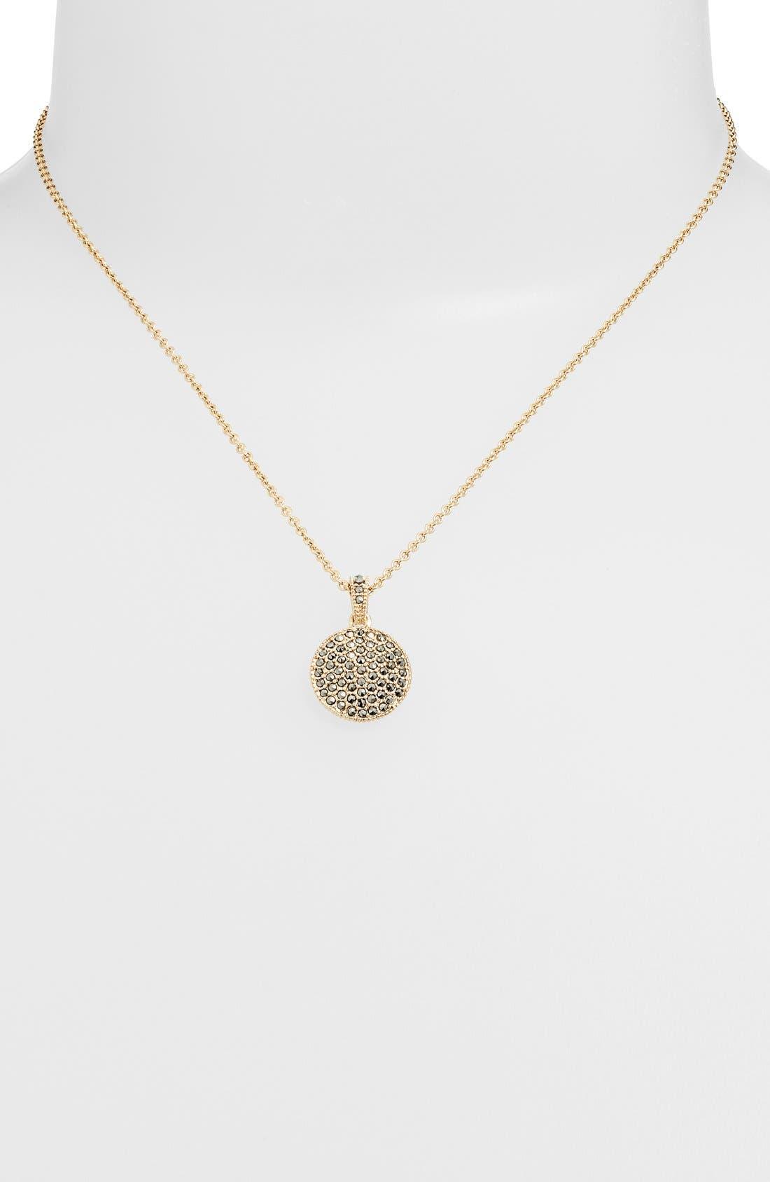 Alternate Image 2  - Judith Jack Reversible Pavé Pendant Necklace