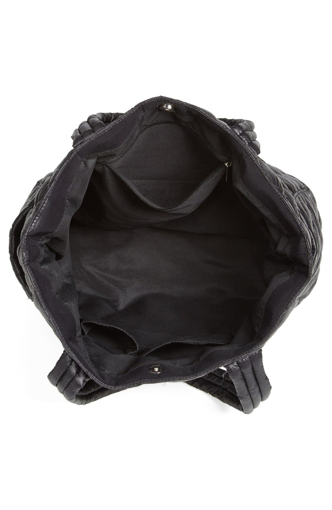 Alternate Image 3  - BP. Quilted Nylon Tote (Juniors)