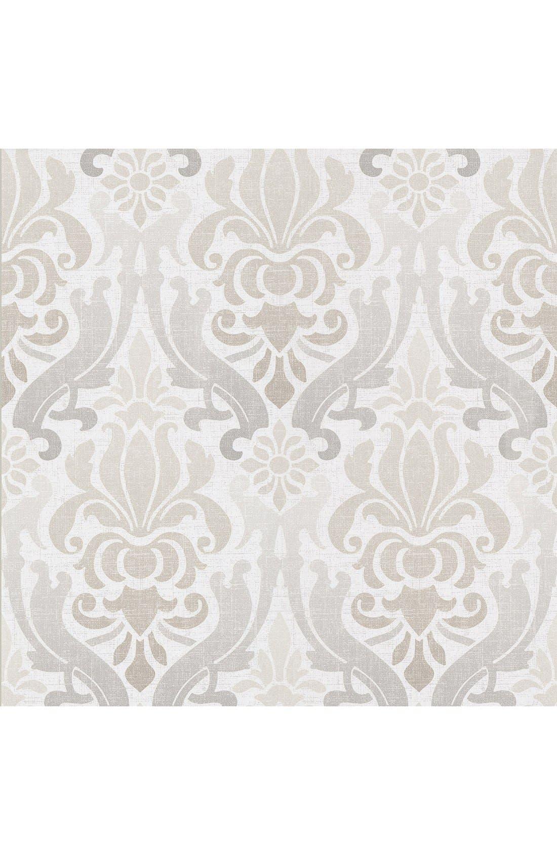 Alternate Image 1 Selected - Wallpops 'Aquitain Nouveau Damask' Unpasted Wallpaper