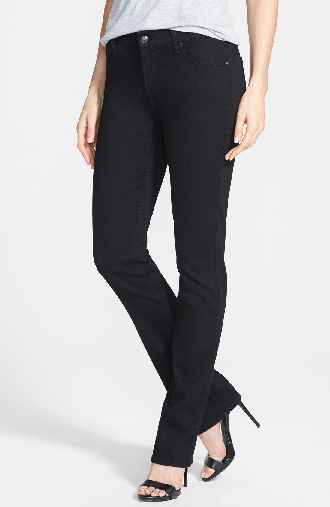 Alternate Image 1 Selected - Jen7 Stretch Straight Leg Jeans