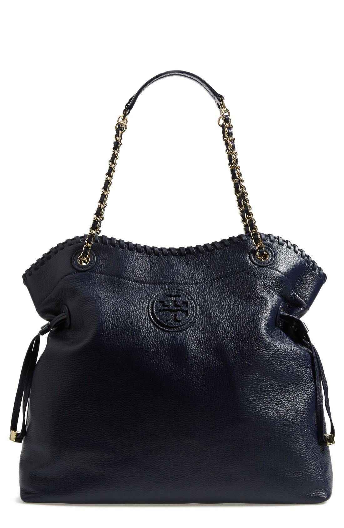Main Image - Tory Burch 'Marion' Leather Tote