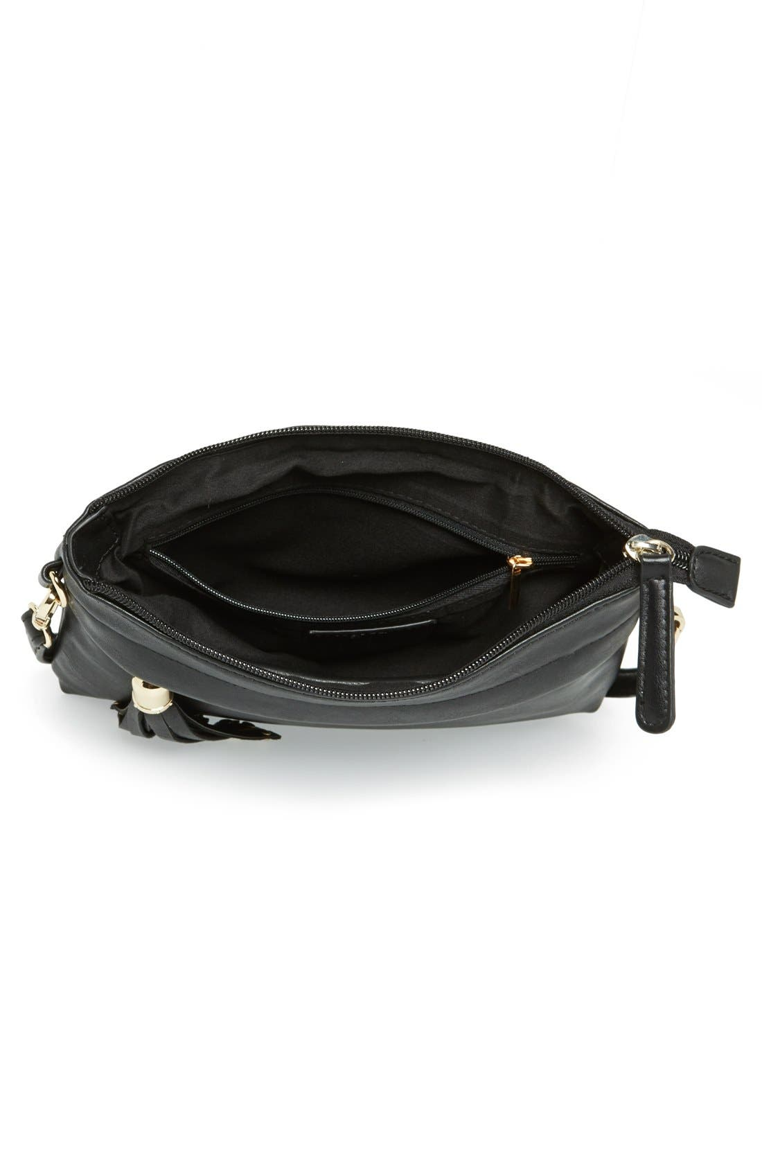 Alternate Image 3  - BP. Faux Leather Crossbody Bag (Juniors)