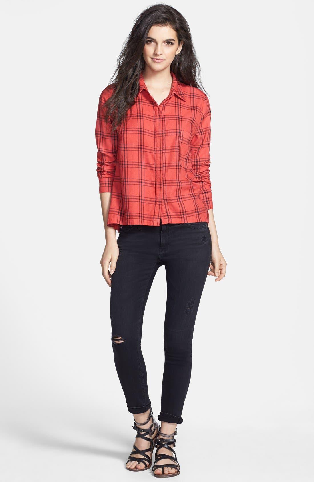 Alternate Image 10  - Splendid 'Aston' Flannel Shirt