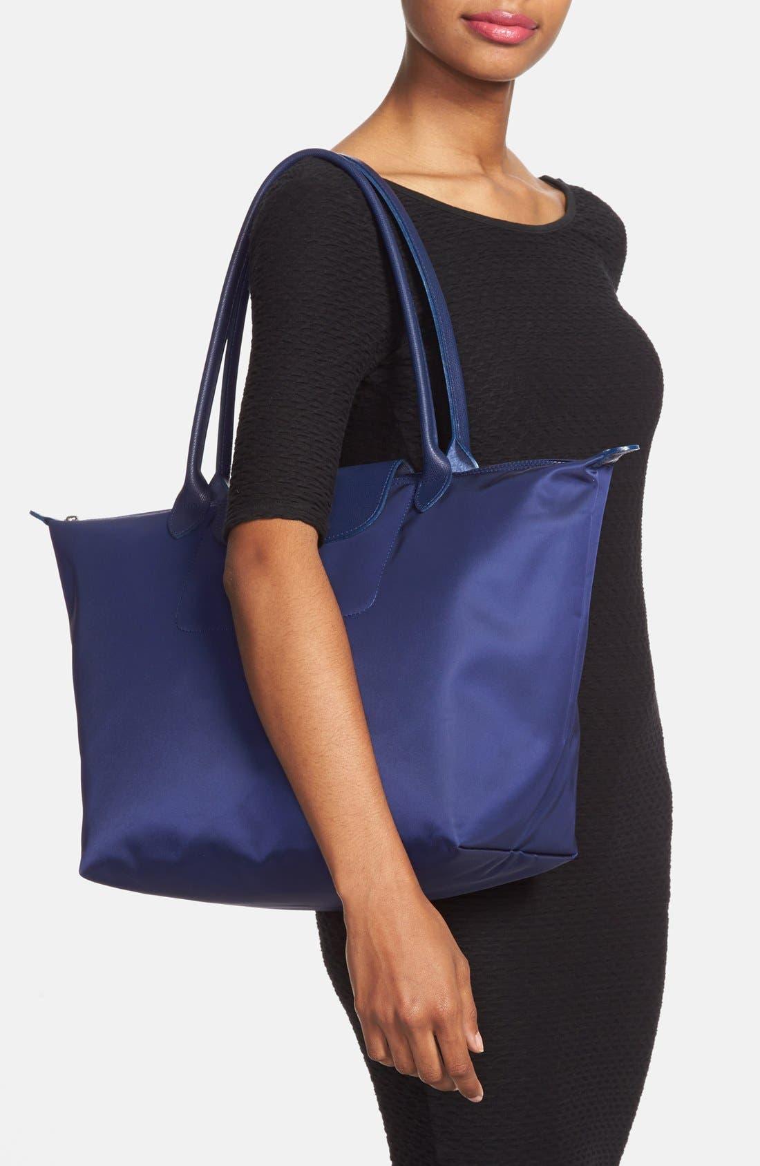Alternate Image 2  - Longchamp 'Large Le Pliage Neo' Nylon Tote