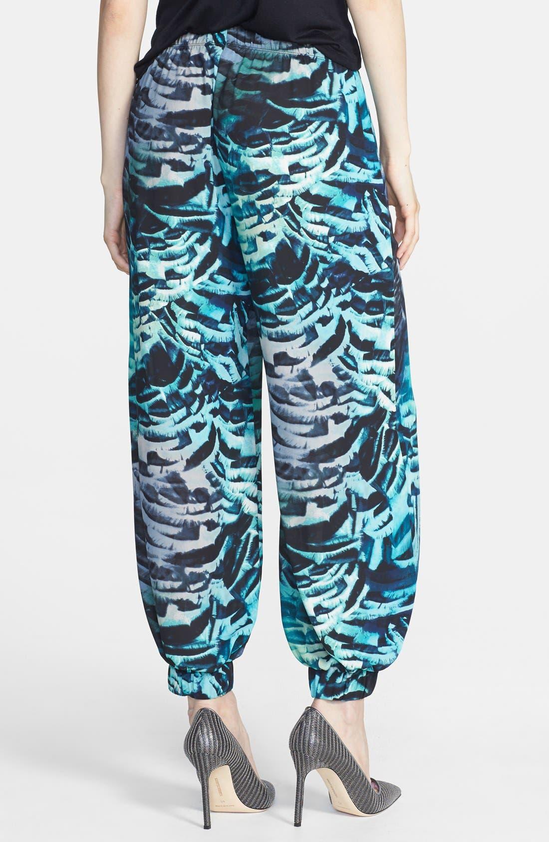 Alternate Image 2  - June & Hudson Floral Genie Pants