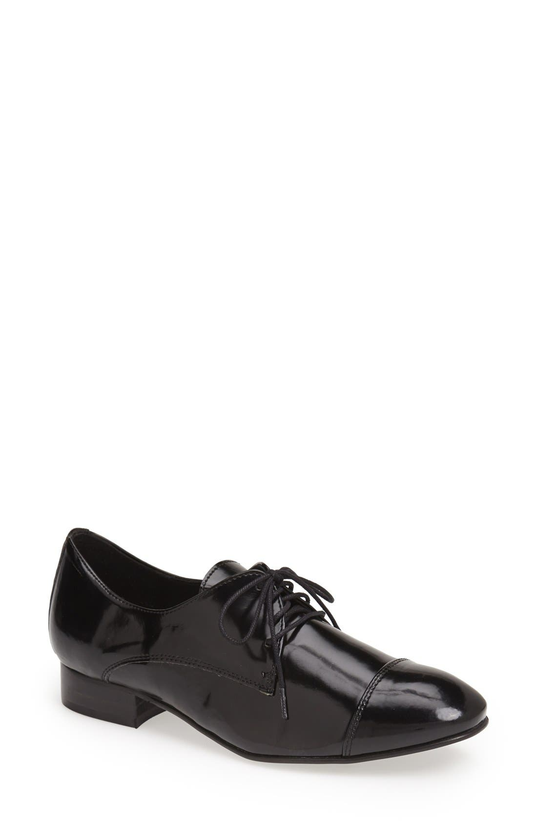 Alternate Image 1 Selected - KG Kurt Geiger 'Lennox' Patent Oxford (Women)