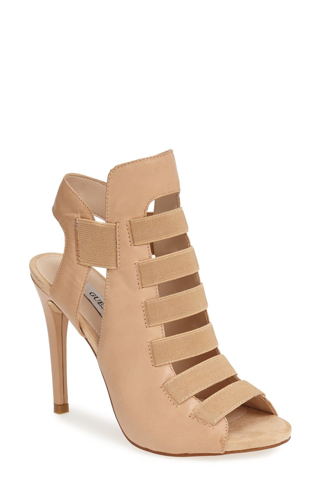 Alternate Image 1 Selected - GUESS 'Chica' Strappy Sandal (Women)