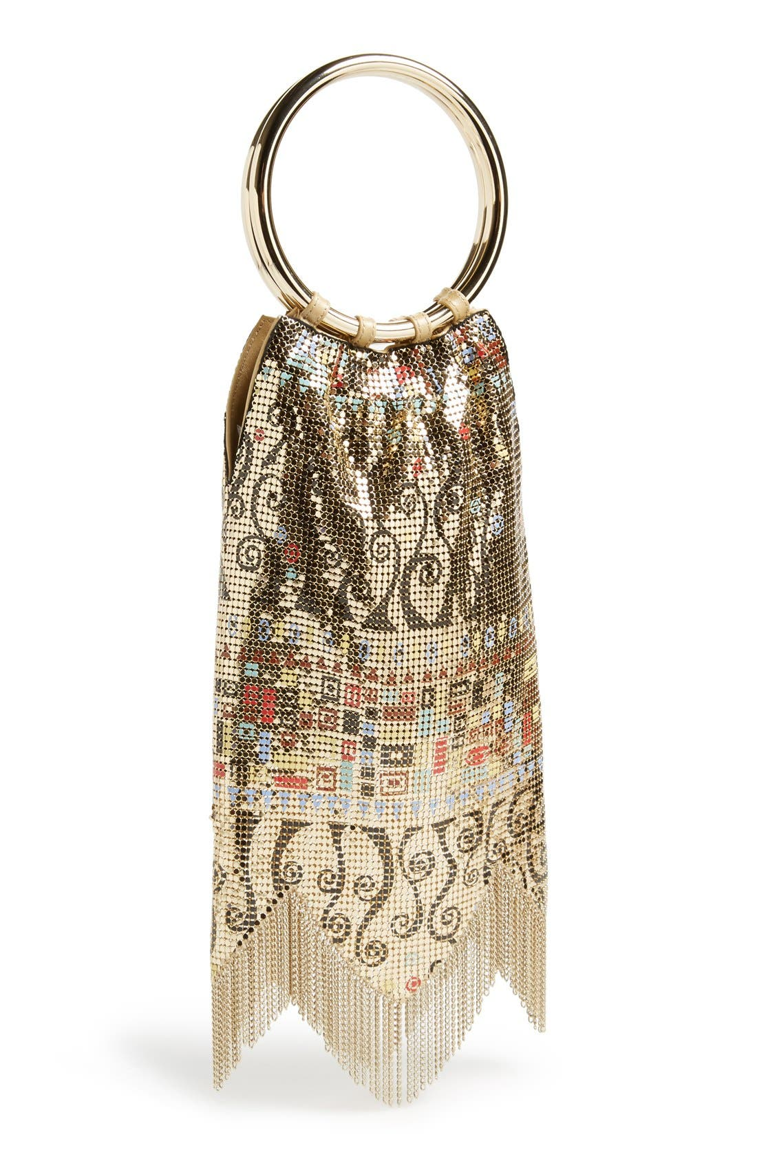 Alternate Image 1 Selected - Whiting & Davis 'Vienna' Metal Mesh Handbag