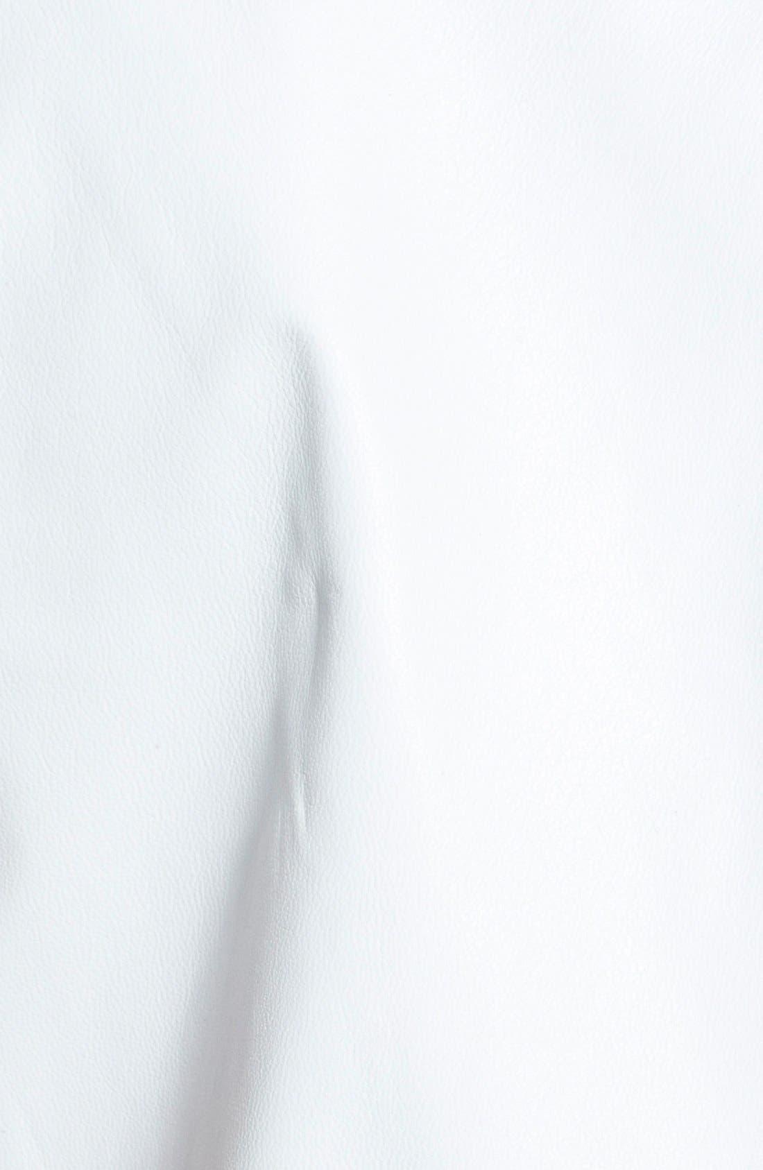 Alternate Image 3  - rag & bone/JEAN 'Nicole' Envelope Back Leather Tank