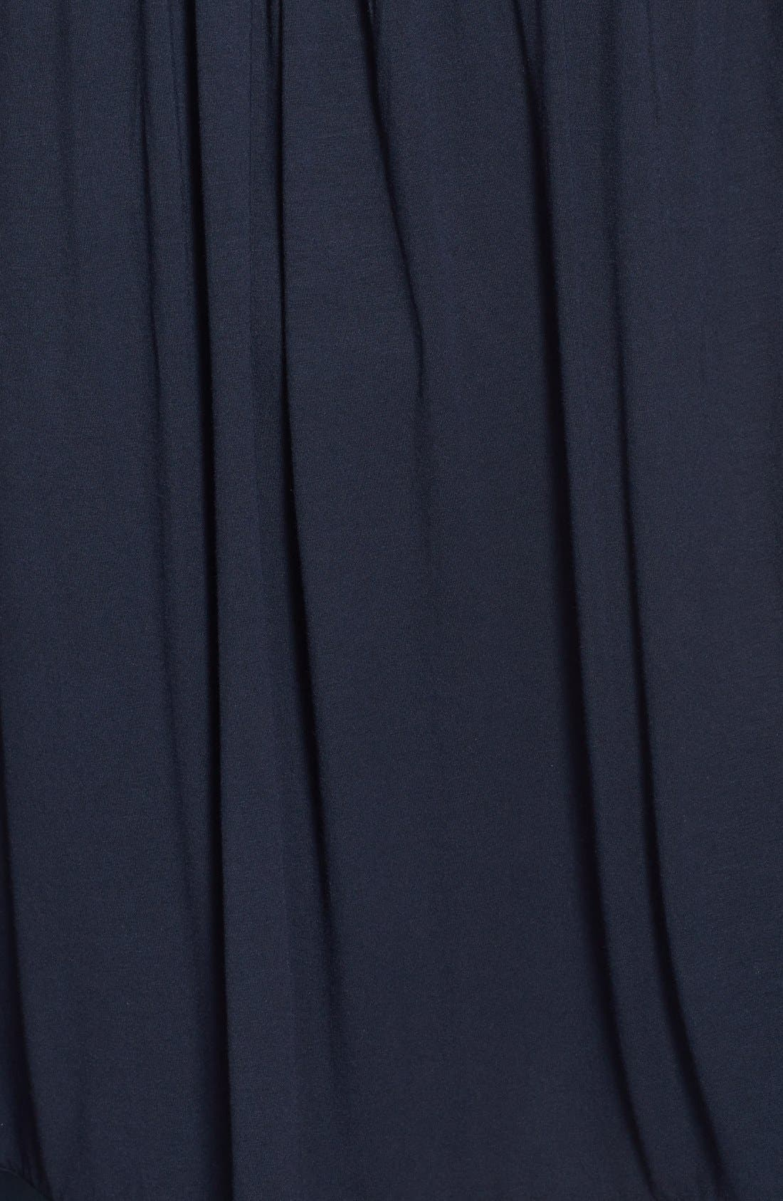 Alternate Image 3  - Midnight by Carole Hochman Satin Detail Chemise (Plus Size)
