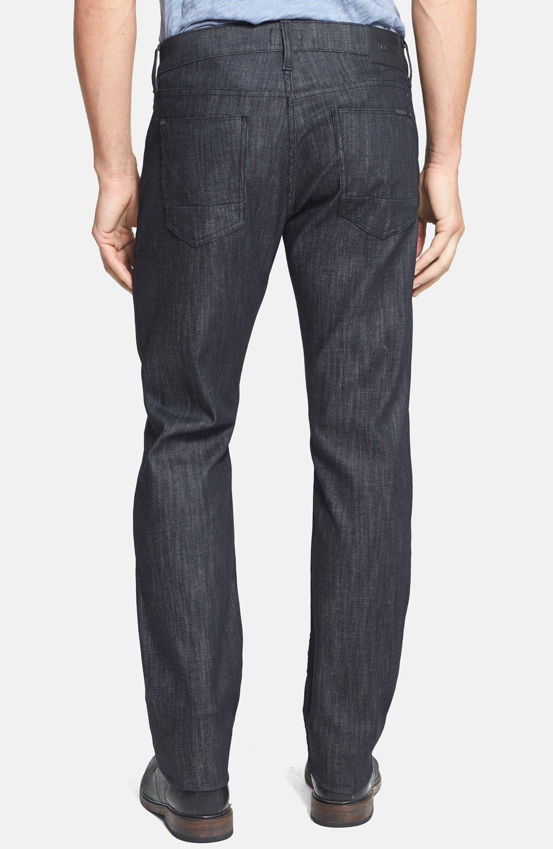 Alternate Image 5  - Hudson Jeans 'Byron' Straight Leg Jeans (Mogul)