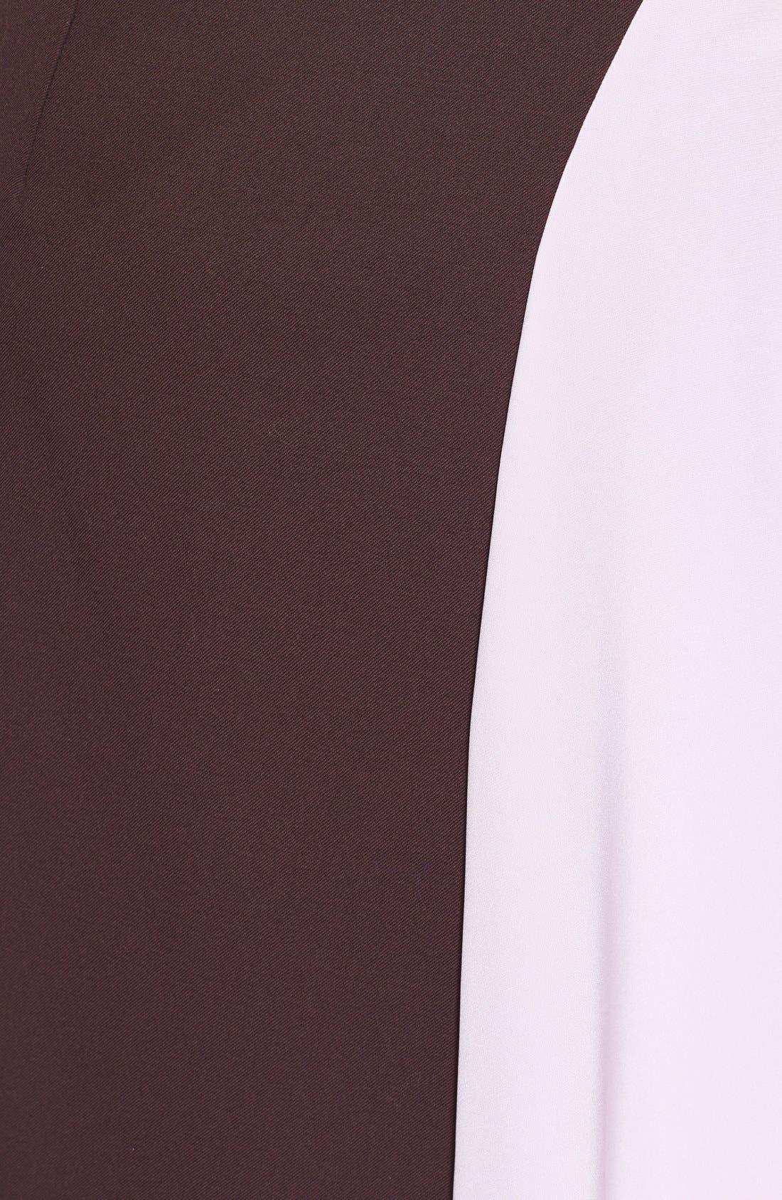 Alternate Image 3  - 3.1 Phillip Lim 'Horizon' Wool & Crêpe de Chine Skirt