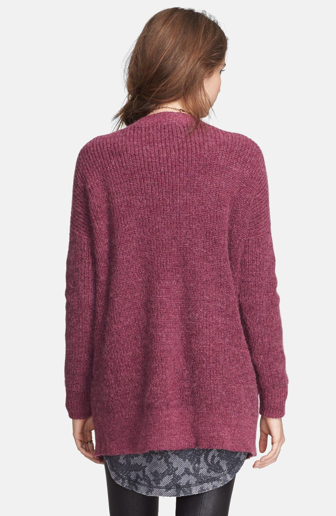 Alternate Image 2  - Free People 'Cloudy Day' Long Cardigan