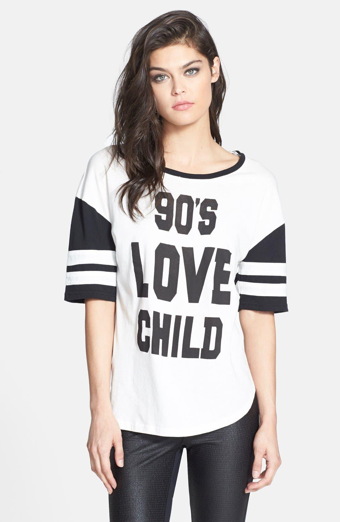 Alternate Image 1 Selected - MINKPINK '90's Love Child' Tee