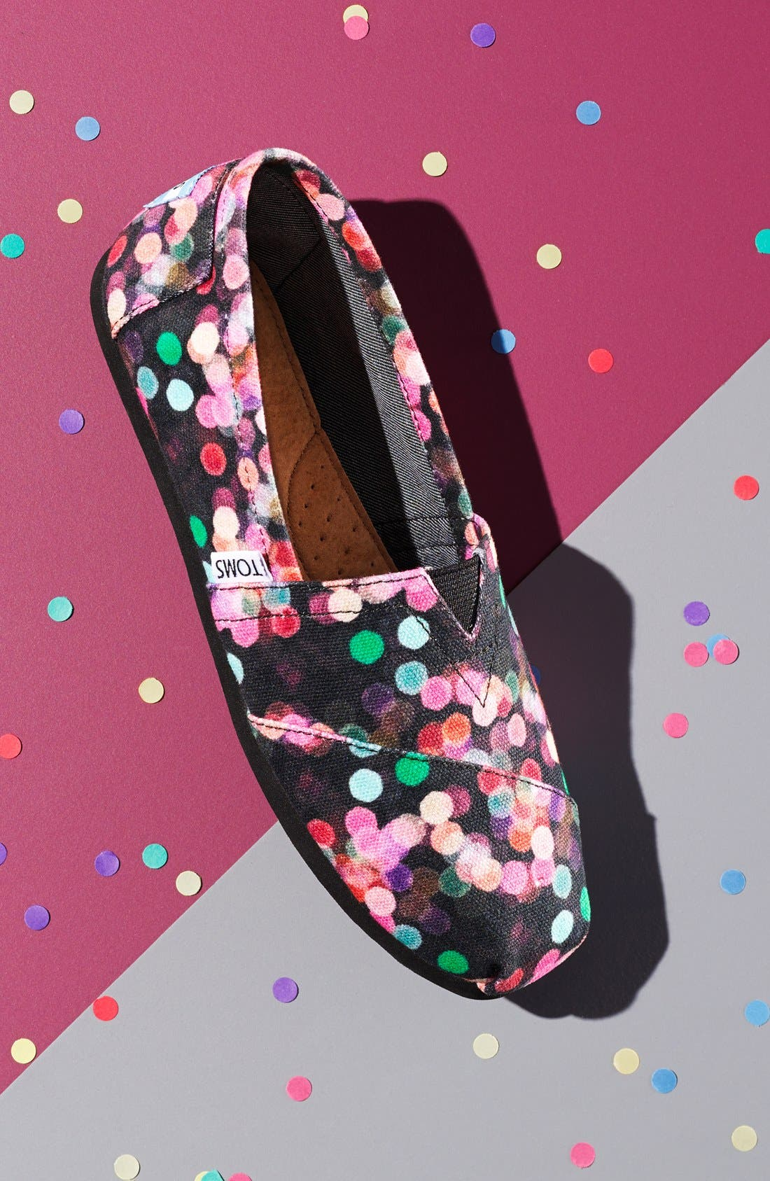 Alternate Image 6  - TOMS 'Classic - Night Lights' Slip-On (Nordstrom Exclusive) (Women)