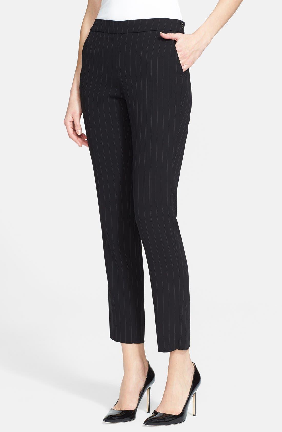Alternate Image 1 Selected - Armani Collezioni Pinstripe Pants