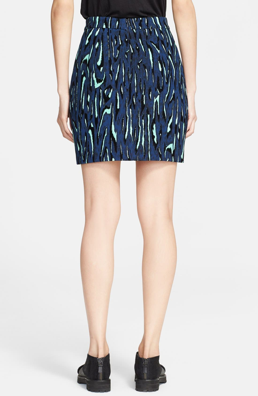Alternate Image 2  - Proenza Schouler Flecked Jacquard Miniskirt