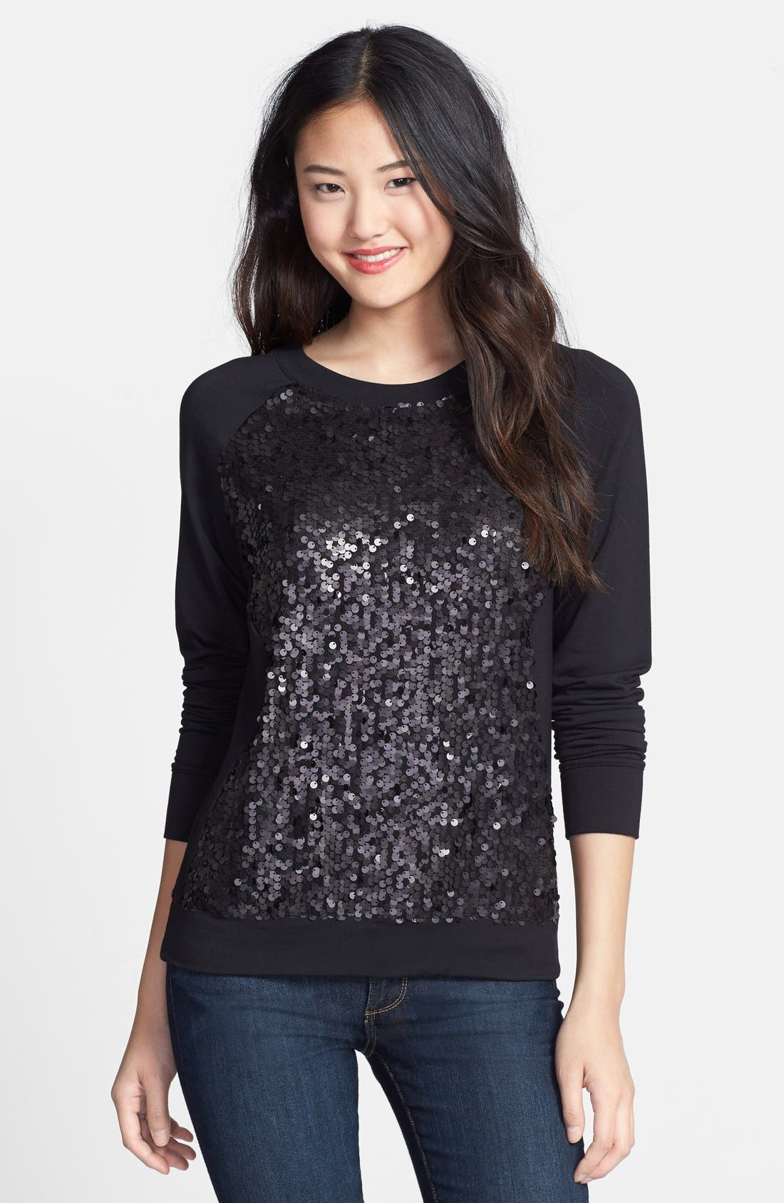 Main Image - Halogen® Embellished Sweatshirt
