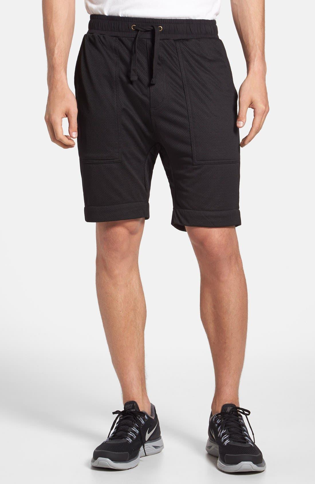 Alternate Image 1 Selected - ZANEROBE 'Gabe' Mesh Jogger Shorts