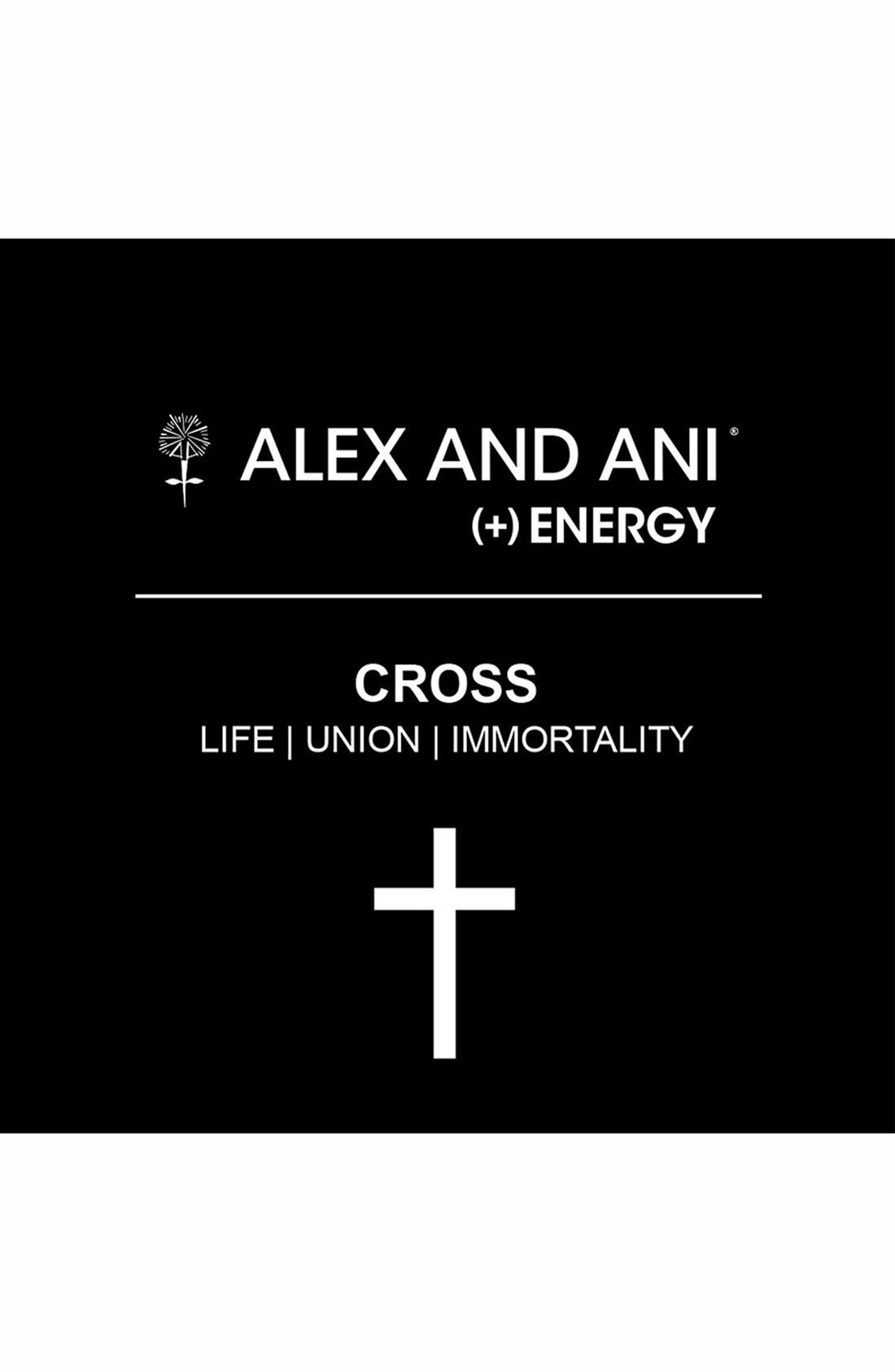 Alternate Image 2  - Alex and Ani 'Cross Wrap' Expandable Wire Bangle