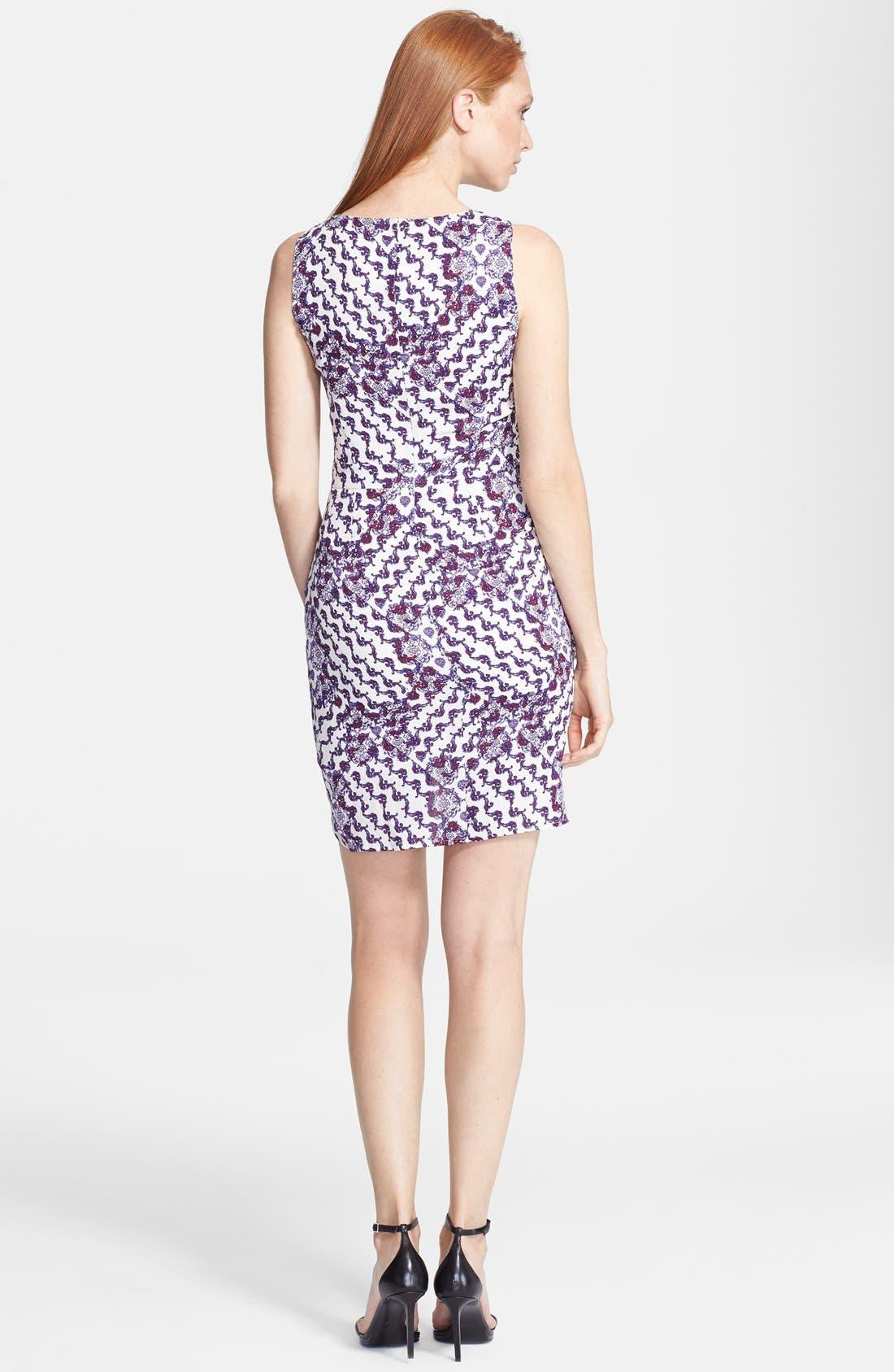 Alternate Image 2  - Rebecca Minkoff 'Colman' Print Silk Sheath Dress