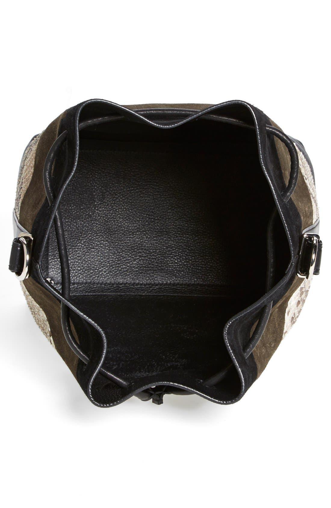 Alternate Image 2  - Proenza Schouler 'Medium' Suede & Genuine Snakeskin Bucket Bag