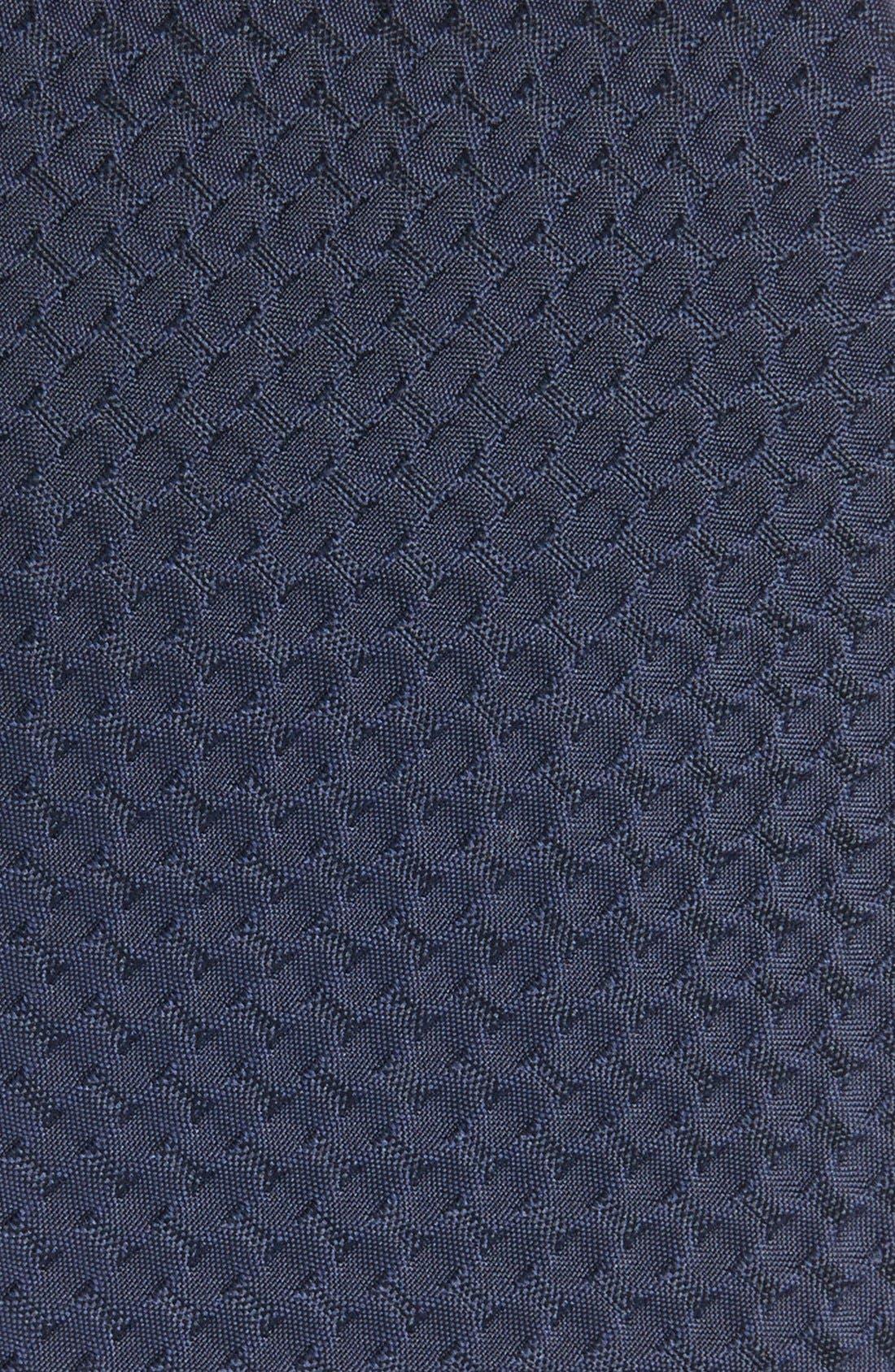 Alternate Image 2  - Armani Collezioni Woven Silk & Cotton Tie