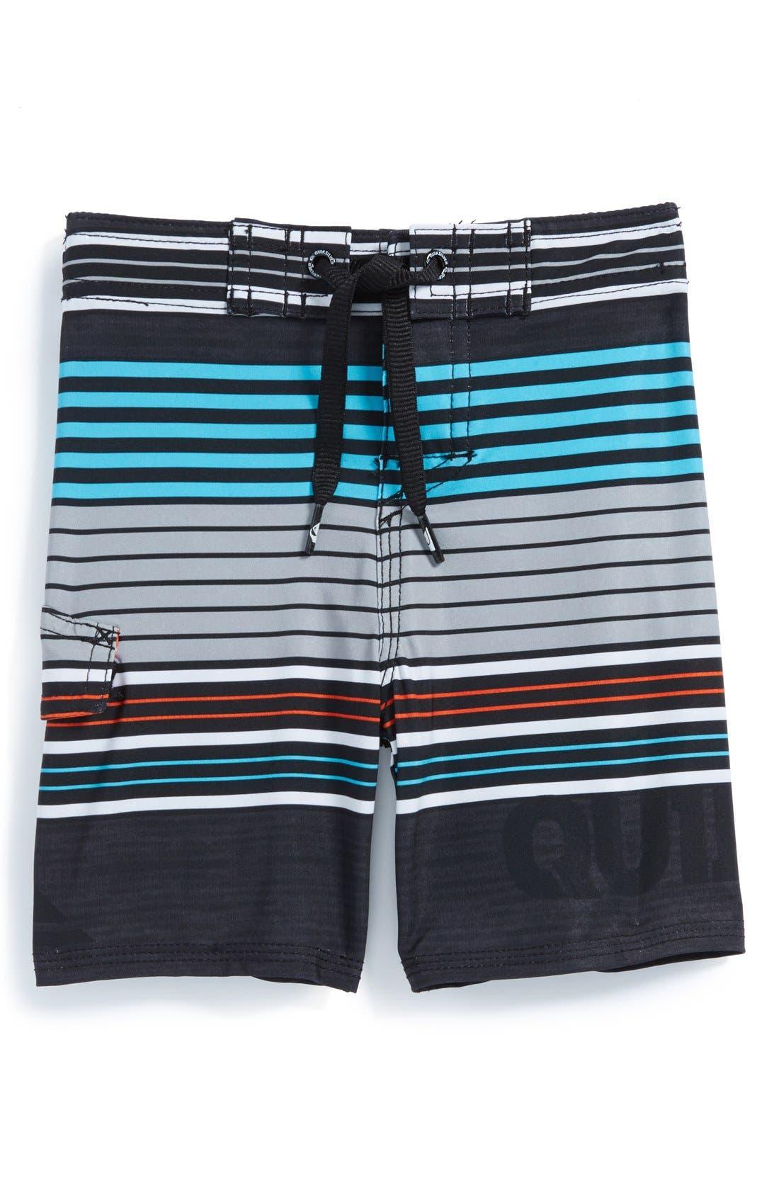 Main Image - Quiksilver 'Cerrano' Board Shorts (Baby Boys)