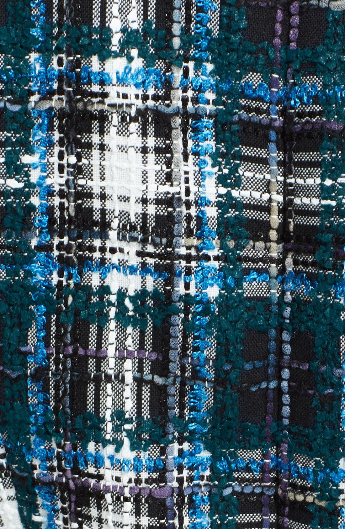 Alternate Image 4  - Oscar de la Renta Asymmetrical Tweed Dress