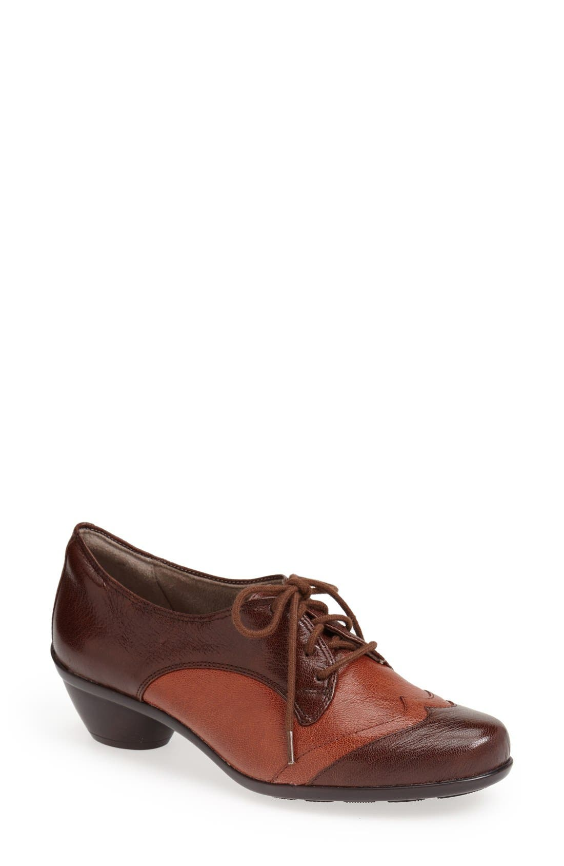 Alternate Image 1 Selected - Naturalizer 'Hampshire' Lace-Up Bootie (Women)
