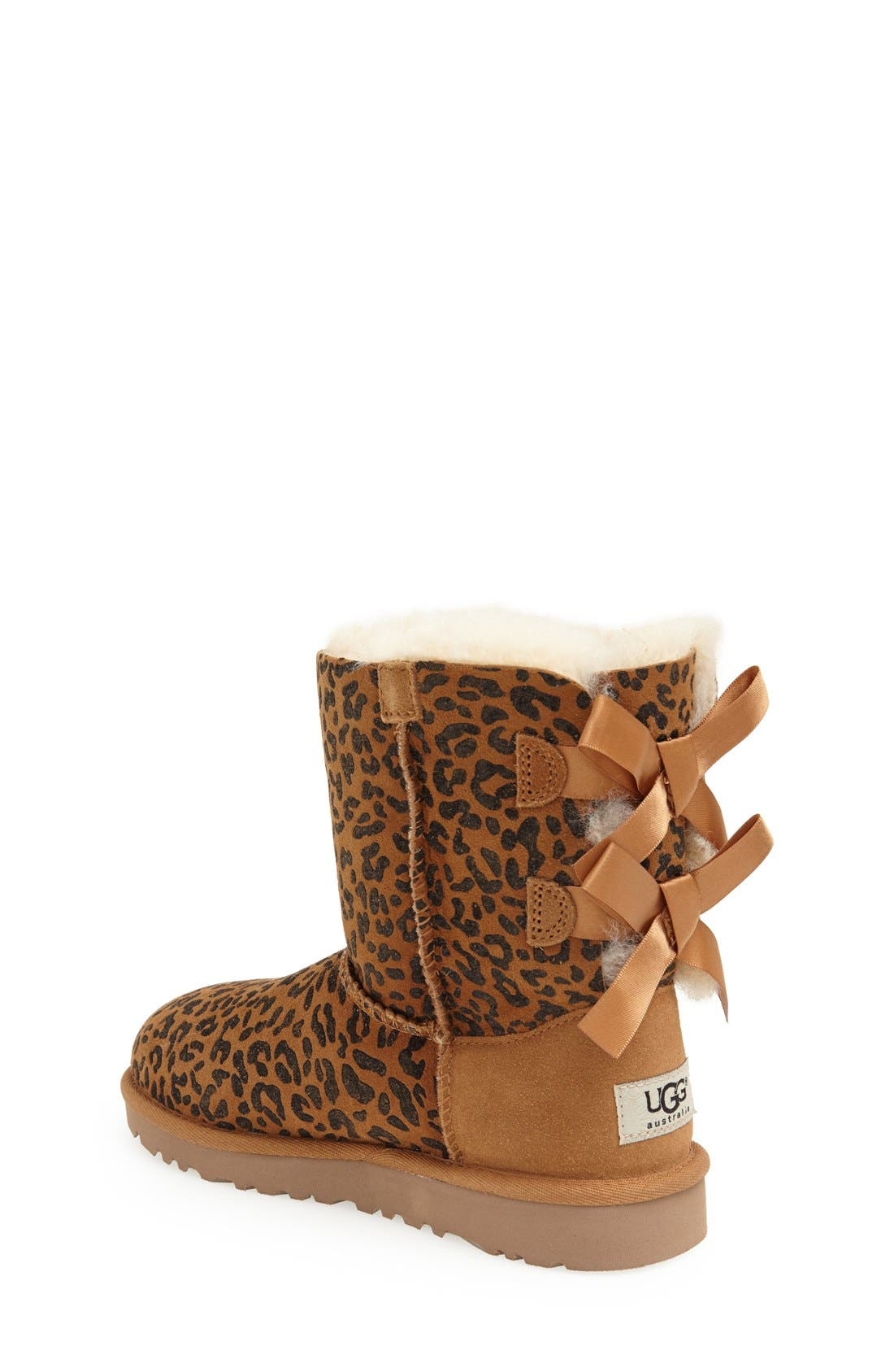 Alternate Image 2  - UGG® Australia 'Bailey Bow' Boot (Walker, Toddler, Little Kid & Big Kid)