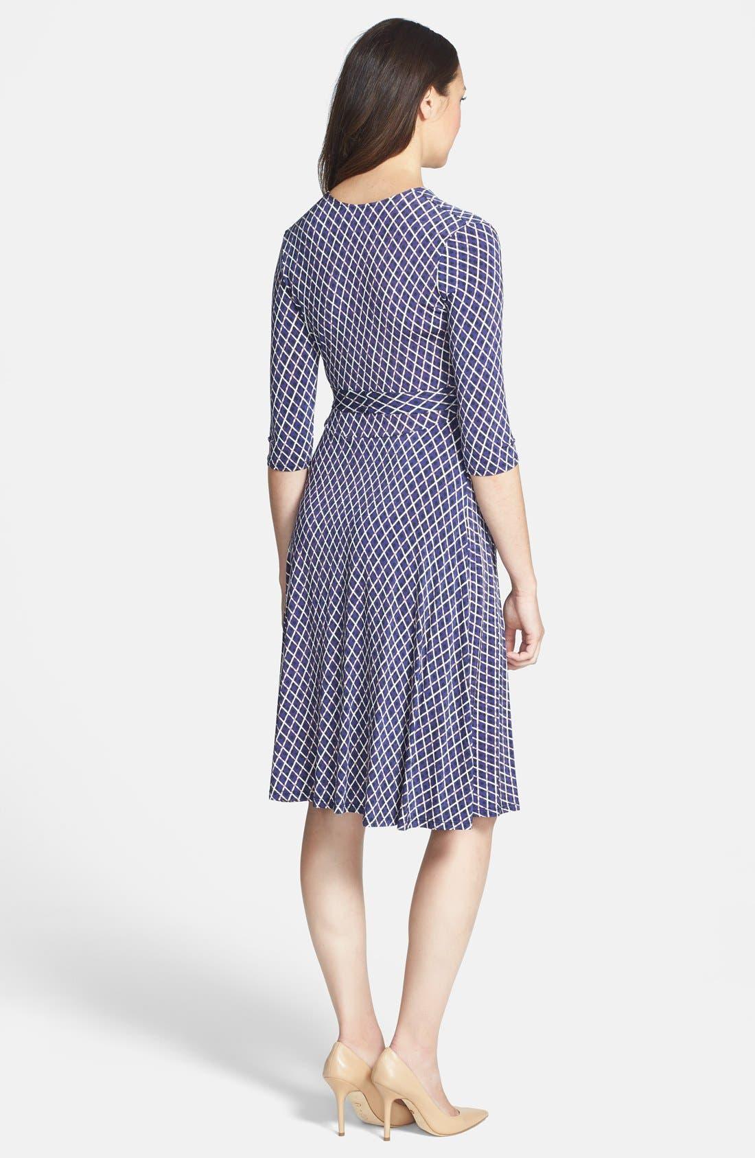 Alternate Image 2  - Leota 'Perfect Wrap' Maternity Dress