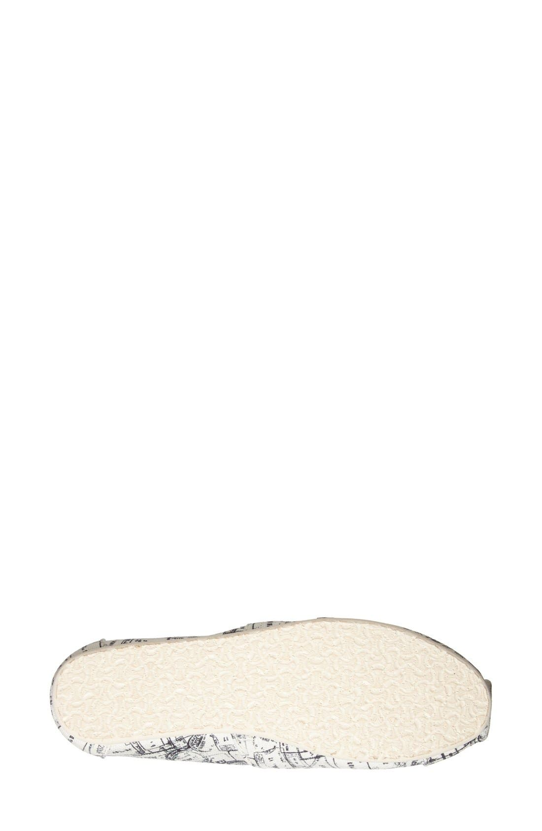 Alternate Image 4  - TOMS 'Classic - Passport Stamps' Slip-On (Nordstrom Exclusive)(Women)